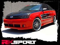 2008-2011 Ford Focus RK Sport Body Kit