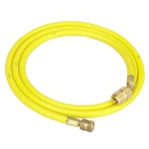 "1988-1993 Buick Riviera Robinair 72"" R-12 Yellow Hose With Quick Seal Fittings"