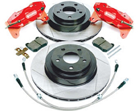 1993-1997 Toyota Supra Rotora Brake Kit - 4-Piston Caliper Big Brake Kit (Rear)