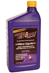 1996-1998 Suzuki X-90 Royal Purple Max Cycle - 10W30 Qt