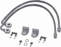 07-12 Jeep Wrangler Rubicon Express Stainless Steel brake Line - Front 24