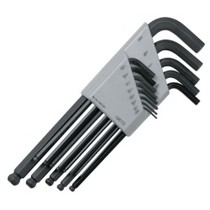 1998-2005 Mercedes M-class S K Hand Tools 13 Piece SAE Ball Hex Key Set