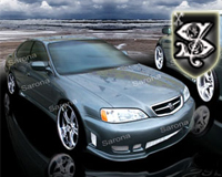 Body Kits For Acura Tl At Andys Auto Sport - Acura tl lip kit