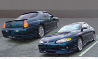 Chevrolet Monte Carlo Body Kits at Andy's Auto Sport