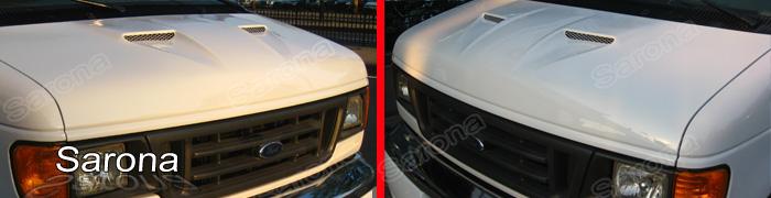 Ford Econoline Fiberglass Hoods At Andys Auto Sport