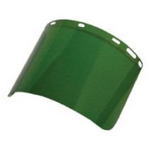 1953-1962 Chevrolet Corvette SAS Safety Replacement Face Shield - Dark Green