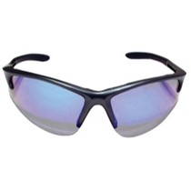 2004-2007 Ford Freestar SAS Safety DB2 Safety Glasses With Charcoal Frame and Purple Haze Lenses - Clamshell