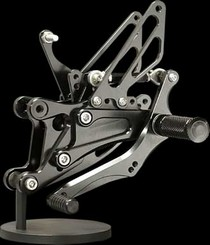 04-06 Yamaha R1 Sato Racing Rear Set - Black