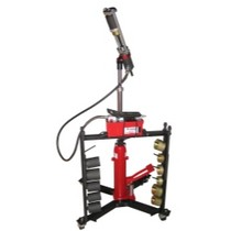 1961-1977 Alpine A110 Schley Products, Inc. Mobile Hydraulic Press Tool With Hand Pump