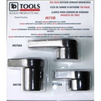 2008-9999 Smart Fortwo Schley Products, Inc. Tri-Pack Oxygen Sensor Wrenches