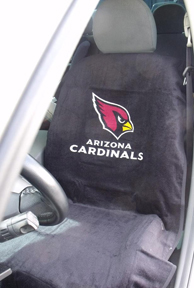 1997-2005 Buick Park_Avenue Seat Armour NFL Towel Seat Cover - Arizona Cardinals