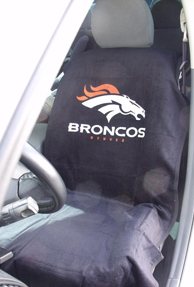 1997-2005 Buick Park_Avenue Seat Armour NFL Towel Seat Cover - Denver Broncos