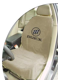 1997-2005 Buick Park_Avenue Seat Armour Towel Seat Cover for Buick (Tan)