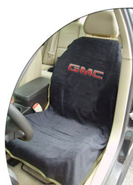 1999-2006 GMC Sierra Seat Armour Towel Seat Cover for GMC (Black)