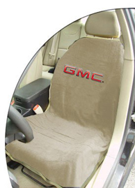 1999-2006 GMC Sierra Seat Armour Towel Seat Cover for GMC (Tan)