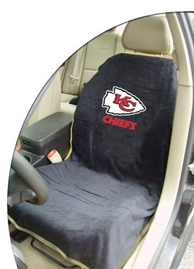 1997-2005 Buick Park_Avenue Seat Armour NFL Towel Seat Cover - Kansas City Chiefs