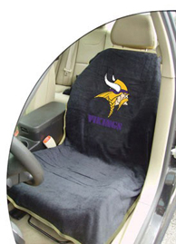 1997-2005 Buick Park_Avenue Seat Armour NFL Towel Seat Cover - Minnesota Vikings