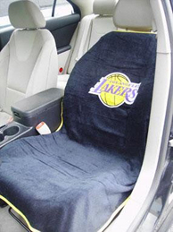 1999-2006 GMC Sierra Seat Armour NBA Towel Seat Cover - Los Angeles Lakers