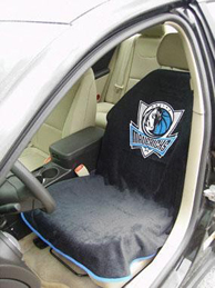 1997-2005 Buick Park_Avenue Seat Armour NBA Towel Seat Cover - Dallas Mavericks