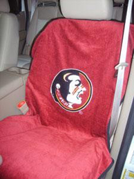 All Jeeps (Universal), All Vehicles (Universal) Seat Armour NCAA Towel Seat Cover - Florida Seminoles