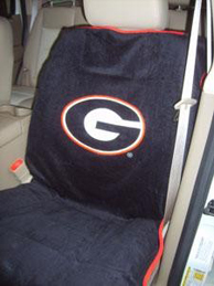 All Jeeps (Universal), All Vehicles (Universal) Seat Armour NCAA Towel Seat Cover - Georgia Bulldogs