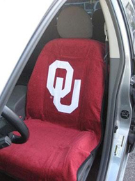 All Jeeps (Universal), All Vehicles (Universal) Seat Armour NCAA Towel Seat Cover - Oklahoma Sooners