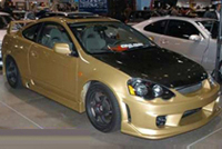 2002-2004 Acura Rsx Sense INGS Body Kit