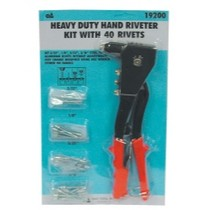 1979-1985 Buick Riviera SG Tool Aid Heavy Duty Hand Riveter Kit With 40 Rivets