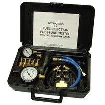 2008-9999 Audi S5 SG Tool Aid Fuel injection Pressure Tester With Two Gauges in Molded Plastic Storage Case