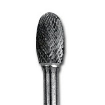 1991-1996 Saturn Sc Shark Industries Ltd Carbide Bur Oval Tip 1/4 in. Shank