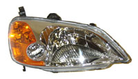 2001-2003 Honda Civic Sherman Head Light (Right Hand)