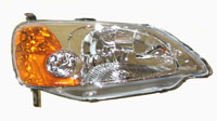 2001-2003 Honda Civic Sherman Head Lights (Right Hand)