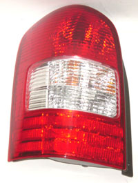 00-01 Mpv Sherman Tail Light Assembly - Combination Type Left Hand