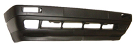 1985-1992 Volkswagen Golf Sherman Front Bumper Cover - w/ Fog Lamp Holes (Primer Finish)