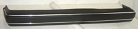 1985-1992 Volkswagen Golf Sherman Bumper Cover (Metallic Black) w/ Bright Moulding