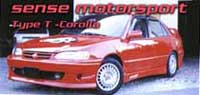 1993-1997 Toyota Corolla Silk Automotive TOMS Body Kit