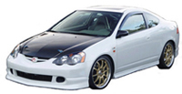 2002-2004 Acura Rsx Silk Automotive Ings Body Kit