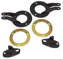 1989-1992 Ford Bronco Skyjacker Multiple Shock Bracket Kit - Dual Rear