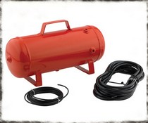 1999-2002 Daewoo Lanos Smittybilt XRC 2.5 Gallon Air Tank With Fittings