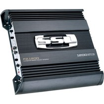 1985-1989 Ferrari 328 Sound Storm 1200W 2 Channel MOSFET Bridgeable Amplifier High/Low Crossover with Remote Subwoofer Level Control
