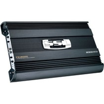 1998-2000 Mercury Mystique Sound Storm 2000W 2 Channel MOSFET Bridgeable Amplifier High/Low Crossover with Remote Subwoofer Level Control