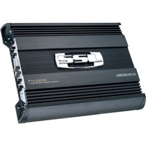1998-2000 Mercury Mystique Sound Storm 1200W 2 Channel MOSFET Bridgeable Amplifier High/Low Crossover with Remote Subwoofer Level Control