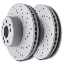 Front /& Rear Drill Slot Brake Rotors /& Ceramic Pads For 97-04 Porsche Boxster