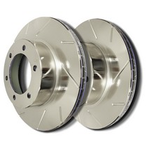 89-93 BMW 535I, 89-95 BMW 525I ,  93 BMW 525IT ,  94-95 BMW 530I E34 Chassis SP Performance Brake Rotors - Slotted Plated (Rear)
