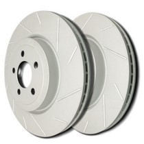 2008-9999 Audi A5 SP Performance Brake Rotors - Slotted ZRC (Front)