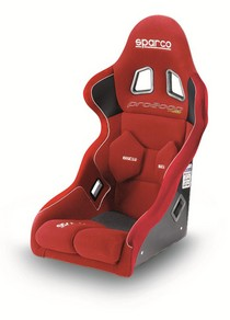 2001-2003 Honda Civic Sparco Pro2000 F Seat (Red)
