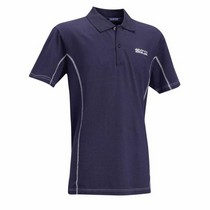 1973-1978 Mercury Colony_Park Sparco Polo Shirt Large (Navy)