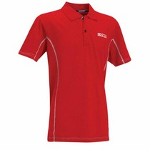 1973-1978 Mercury Colony_Park Sparco Polo Shirt Large (Red)