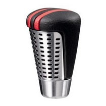 2001-2003 Honda Civic Sparco 77 Shift Knob (Black / Red)