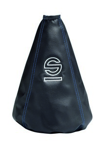 1988-1993 Chrysler New_Yorker Sparco Basic Shift Boot (Black / Blue)